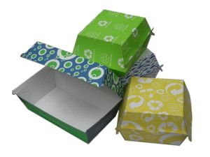Take out Food Box / One-off Box / Paper Food Box pictures & photos