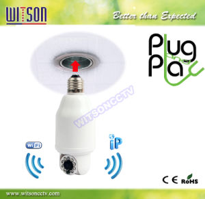 Witson Bulb Look IP Camera, Plug and Play (W3-CN3102WHD) pictures & photos