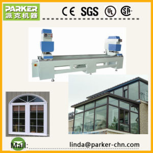Double Head Seamless PVC Window Welding Machine Price pictures & photos