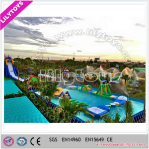 Lilytoys Water Park Inflatable Swimming Pool Game for Swimming (Lilytoys-wp-032) pictures & photos