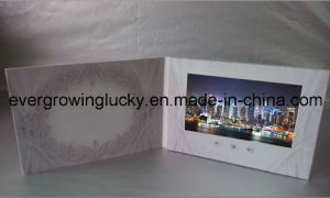 7inch LCD Screen Video Cards From China pictures & photos