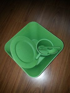 Bamboo Fiber Tableware Combination Series with Eco-Friendly (BC-CS1019) pictures & photos