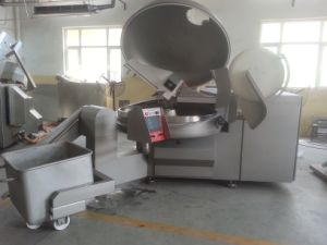 Vacuum Meat Bowl Cutter with High Speed Cutter pictures & photos