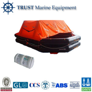 Solas Approved Marine 6 to 100 Persons Reversible Life Raft pictures & photos