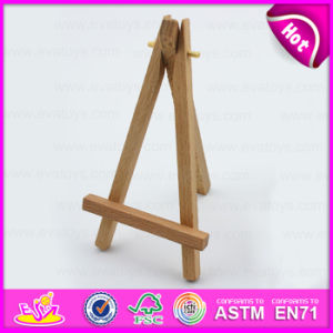 Small Desktop Wood Easel for Kids, Wholesale Price Display Small Wooden Easel W12b071A pictures & photos