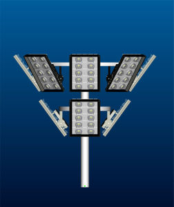 400W High Power LED Street Light with High Brightness COB Bridgelux Chip and Stable Meanwell Driver pictures & photos