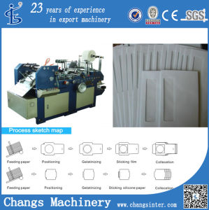 Tmz-382 Custom Busines C5dl Window Envelopes Pasting Machine for Sale pictures & photos