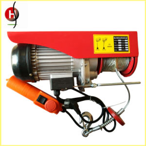 Small Electric Winch Hoist Mini Electric Cable Hoist for Lifting pictures & photos