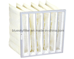 V-Bank Dust Filter Bag with Efficiency F7 pictures & photos