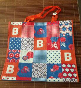 Excellent Woven Shopping Bag with Matt Lamination