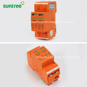 DC500V 20ka-40ka 2 Pole DC Surge Protective Device SPD pictures & photos