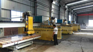 CNC Laser Bridge Cutting Stone Machine PLC-1400 pictures & photos