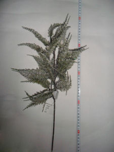 Artificail Leaves Flower for Christmas Winter Decoration (SHL15-F519)