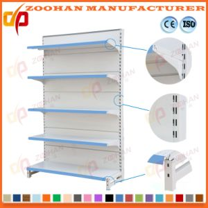 Metallic Wall Shelves Supermarket Store Storage Racks Display Shelving (Zhs408) pictures & photos