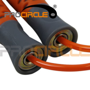 New Fashion Fitness PVC Ropes Plastic Handle Jump Rope (PC-JR1100) pictures & photos