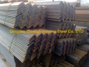 Equal and Unequal Hot Tolled Steel Angle pictures & photos