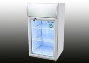 80L Auto Defrost Glass Door Mini Fridge Made in China pictures & photos