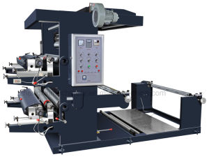 Fabric Non Woven Two Color Letterpress Printing Machine Price (Zxh-C21200) pictures & photos