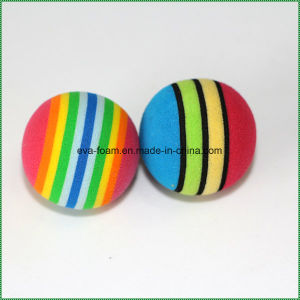 EVA Kids Gift Colored Toy Sponge Foam Ball pictures & photos