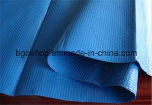 PVC Laminated Tarpaulin Camping Tent Waterproof Fabric (500dx500d 18X17 460g) pictures & photos