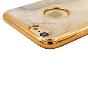 Eletroplate Jade TPU Mobile Phone Case/Cover for Samsung/iPhone pictures & photos