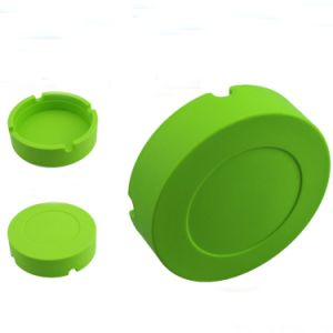Round Shape 100% Food Grade Non Toxic Tire Silicone Ashtray pictures & photos