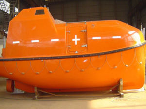 CCS Approved FRP Totally Enclosed Type Lifeboat and Electric Winch Davit pictures & photos
