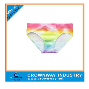 Colorful Pattern Cute Soft Underwear for Girl pictures & photos