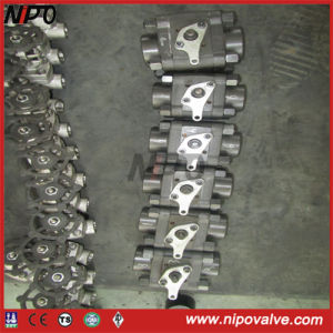 ANSI Forged Steel Thread Ball Valve pictures & photos