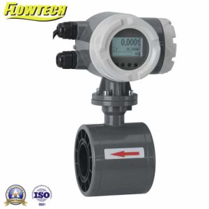 Electromagnetic Flowmeter for Conductivity Liquids pictures & photos