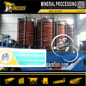 Chrome Mining Benefication Equipment Spiral Separator for Ore Beneficiation Process pictures & photos