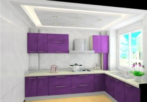 Wholesale Kitchen Units MDF Cabinet Doors Popular New Kitchens pictures & photos