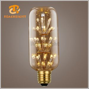 Mtx T45 Dimmable LED Star Filament Bulb pictures & photos