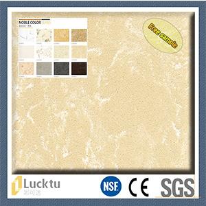 Marble Surfacr Yellow Color Quartz Stone