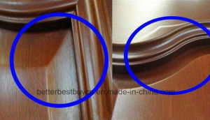 Housing Using Classic Design MDF/PVC Wood Door pictures & photos