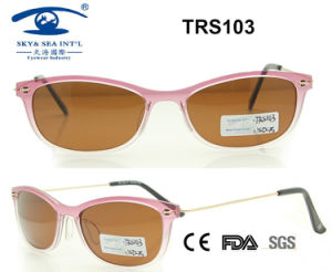Promotional High Quality Beautiful Tr Sunglass (TRS103) pictures & photos