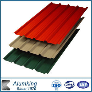 3004 Corrugated Aluminum Sheet Plate for Building Material pictures & photos