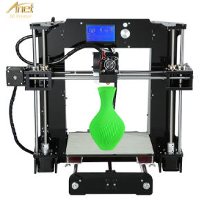 Upgrade! Anet A6 LCD Touch 0.1mm Precision off Line 3D Printer