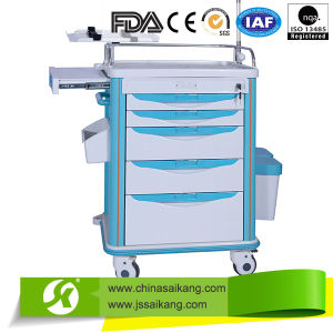 High Quality Hospital IV Treatment Trolley pictures & photos