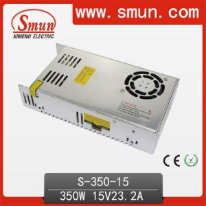 350W 15V Power Supply with Fan and 2 Years Warranty pictures & photos