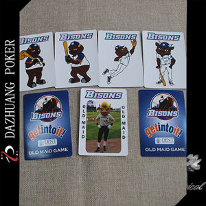Bisons Old Maid Game Card for USA Market pictures & photos