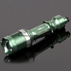 6 Modes LED Flashlight with Li-ion Battery