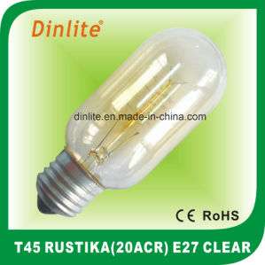 T45-20(ACR) 40W 60W Clear Rustika bulb pictures & photos