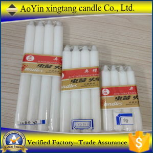 9-100g Cheap Wax Candle/ White Candle to Africa Middle-East pictures & photos