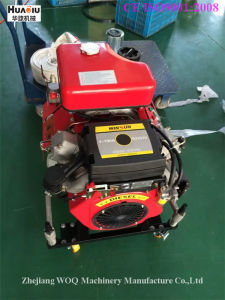 Fire Pump Diesel Driven with Handle and Wheels pictures & photos