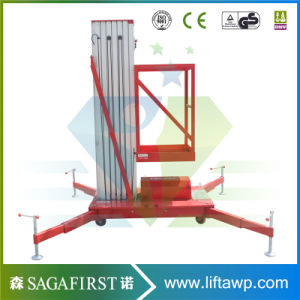 12m Mobile Vertical Aerial Mast Work Platform pictures & photos