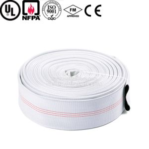 6 Inch EPDM Lining Colorful Canvas Fire Hose Pipe pictures & photos
