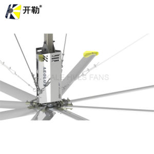 Air Circulation Hvls 7.3m 380VAC/220VAC Large Industrial Ceiling Fan Electric Ventilating Fan (KL-HVLS-D8BAA73)