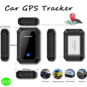 High Capacity Battery Car/Motorcycle/Vehicle GPS Tracker (A10) pictures & photos