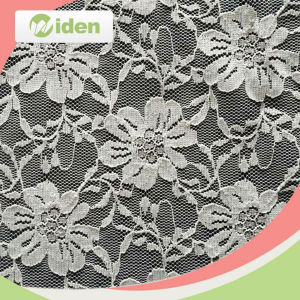 100 % Nylon Cord Lace Fabric for Girls Party Dress pictures & photos